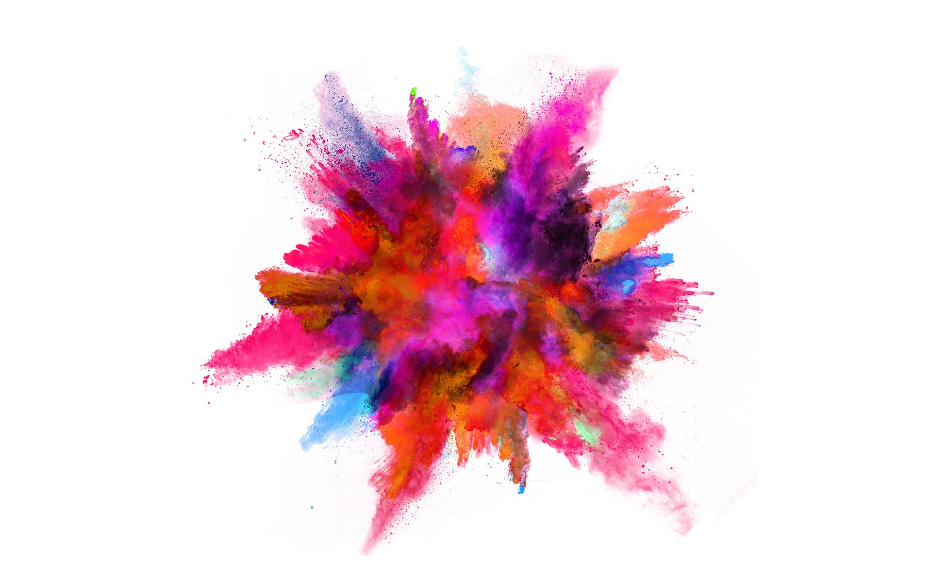 bunte watercolor Farbexplosion