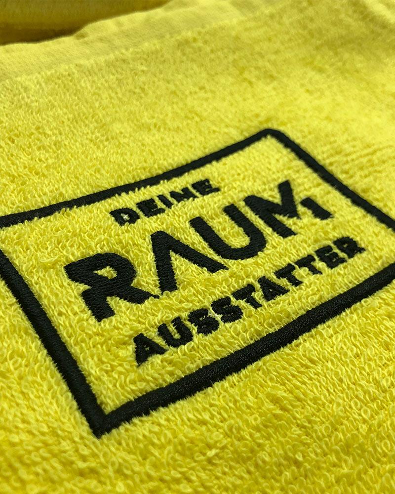 Textilstickung der Firma Deine Raumausstatter